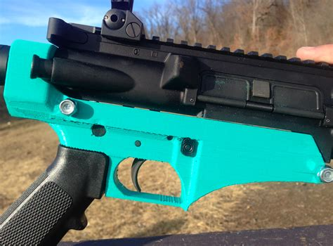 3d Printed Ar15 Lower Receiver With Pla