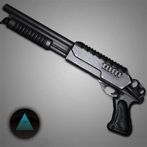 3d Shotgun Model