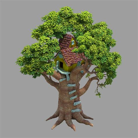 3d tree house building games Image