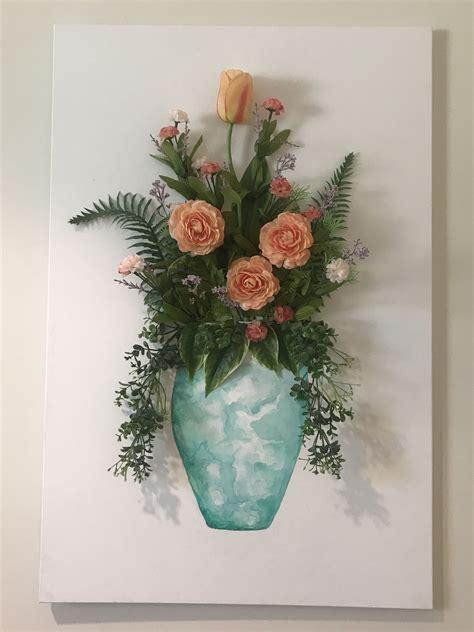 3d-Flower-Wall-Decor-Diy