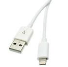 3ft, Apple Authorized Lightning Cable, White , USB Charge and Sync ( 2 PACK ) BY NETCNA