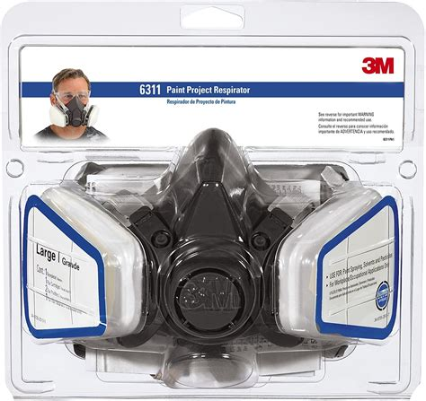 3m Large Paint Project Respirator Mask6311pa1a The
