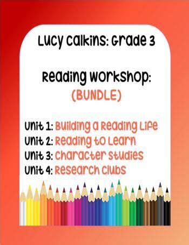 3rd-Grade-Reading-Workshop-Lesson-Plans