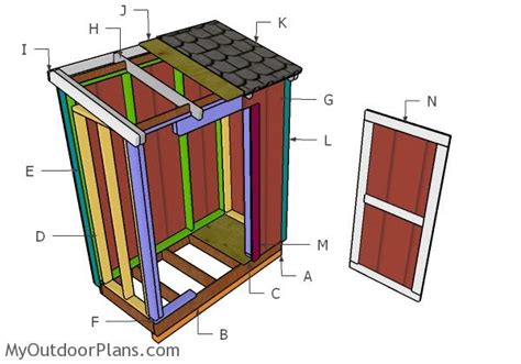 3x6-Lean-To-Shed-Plans