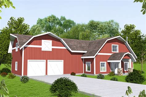 4 Bedroom Barn Style House Plans