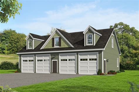 4 Car Garage Plans With Workshops