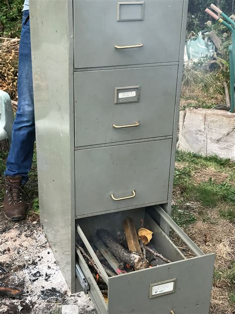 4 Drawer File Cabinet Smoker Plans