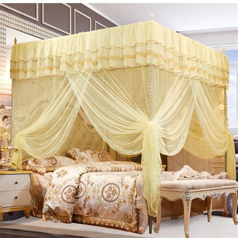 4 Post Bed Canopy Mosquito Net