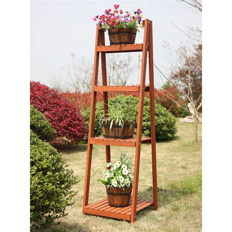 4 Tier Plant Stand Plans