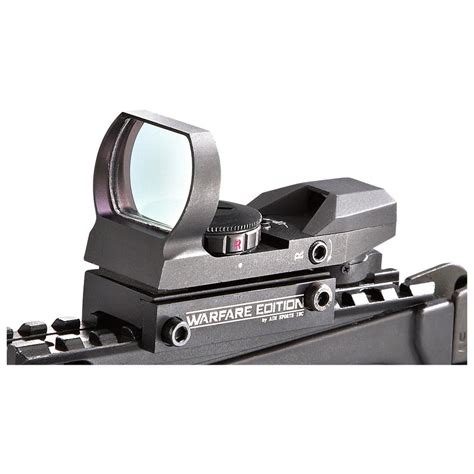 4 Reticle Red Green Dot Aim Sports Sight