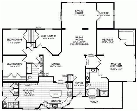 4-Bed-3-Bath-Mobile-Home-Floor-Plans