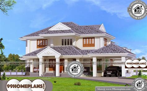 4-Bed-House-Plans-Indian-Model