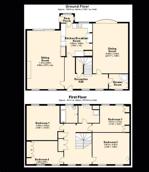 4-Bed-House-Plans-Uk