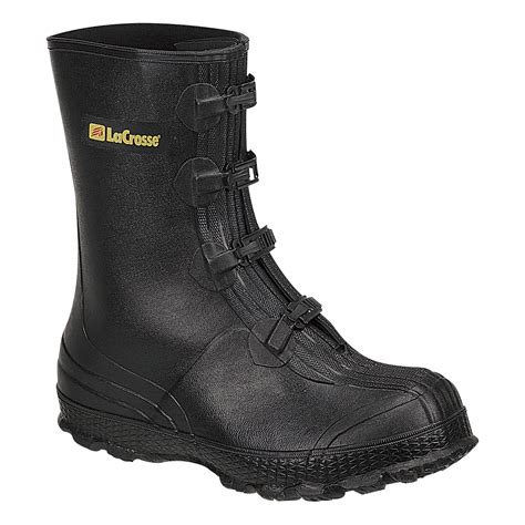 4-Buckle Rubber Overshoe - 11in.H, Size 16, Model# 266160