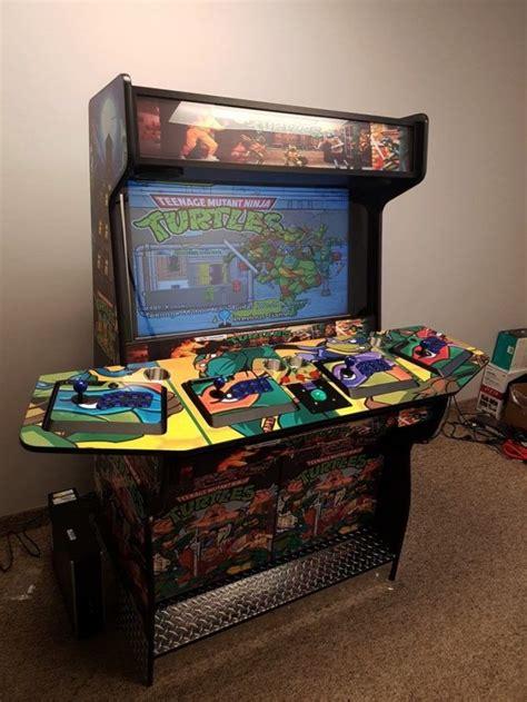 4-Player-Arcade-Cabinet-Plans