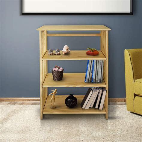 4-Shelf-Folding-Bookcase