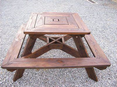 4-Sided-Square-Picnic-Table-Plans