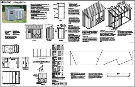 4-X-10-Lean-To-Shed-Plans