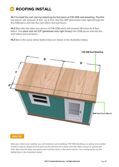 4-X-12-Lean-To-Shed-Plans