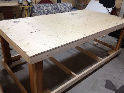 4-X-8-Work-Table-Plans