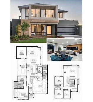 4 Bed 2 Story Floor Plans