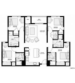 4 Bed 4 Bath Floor Plans