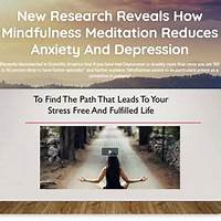 4 week meditation course for healing depression anxiety stress work or scam?