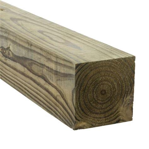 4 x 4 x 8 pressure treated lumber Image
