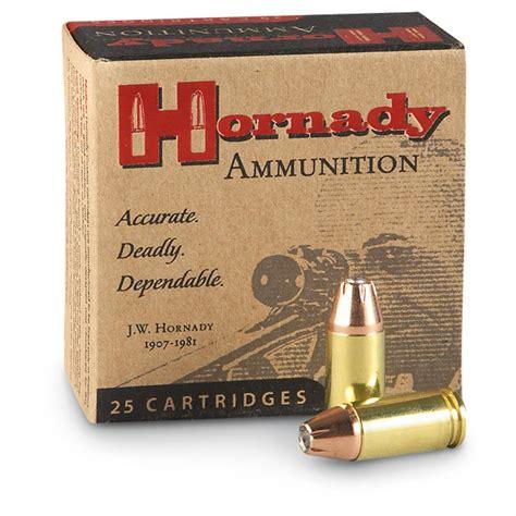 40 S W Ballistics Hornady