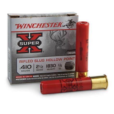 410 Ammo Types