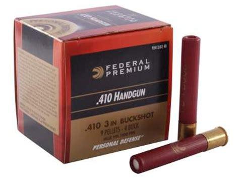 410 Self Defense Ammunition Reviews
