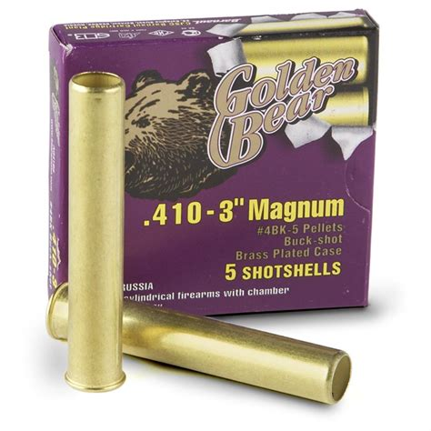 410 Shotgun Ammo Golden Bear