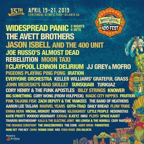 420 Fest Denver 2019 Lineup