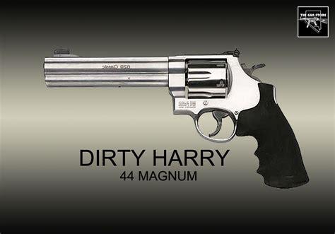 44 Magnum Handgun Dirty Harry And 45 Caliber Automatic Handgun