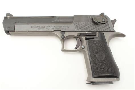 44 Caliber Semi Automatic Handgun