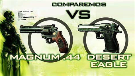 Desert-Eagle 44 Magnum Vs Desert Eagle Mw3