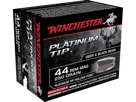 44 Remington Magnum 250gr Hollow Point 20 Box Winchester