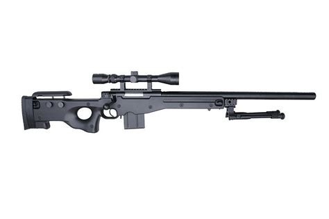 Rifle-Scopes 4401d Sniper Rifle Replica With Scope And Bipod.
