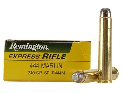 444 Marlin Rifle Ammo