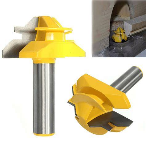 45 Lock Miter Router Bits 1 2 Shank Definition