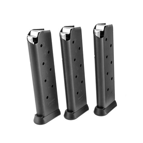 45 Acp 1911 Magazine 8 Round 3 Pack Brownells Fr And Williams Gun Sight Front Sight Amazon Com