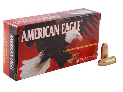 45 Acp 230 Grain Fmj Federal American Eagle 500 Rounds