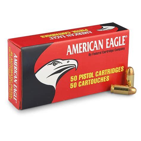 45 ACP Auto Ammo Handgun American Eagle - AmmoSeek