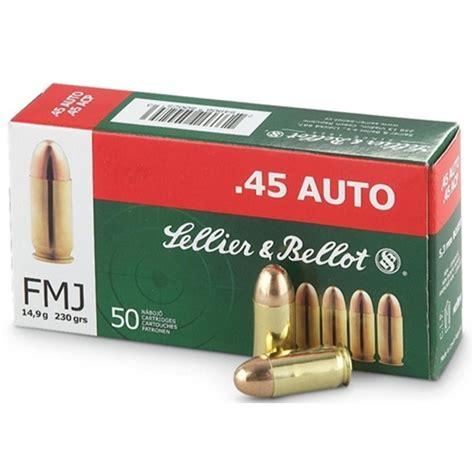 45 ACP Auto Ammo Sellier And Bellot Handgun - AmmoSeek Com