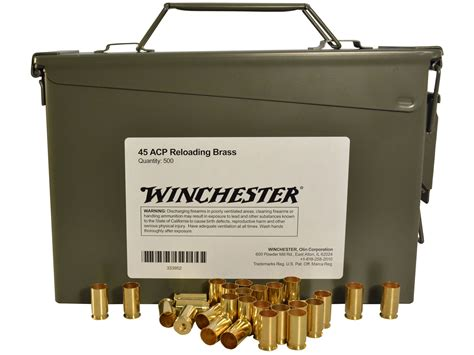 45 Acp Bulk Ammo Brass