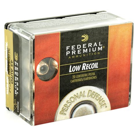 45 Acp Low Recoil Ammo