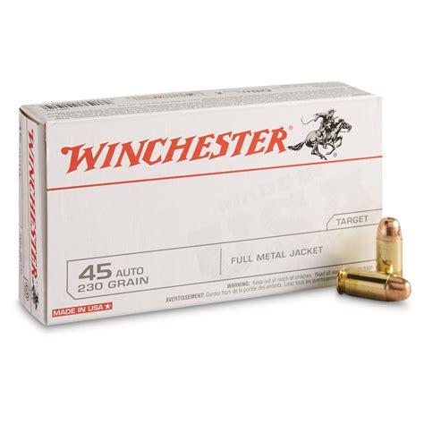 45 Acp Winchester Ammo