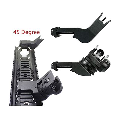 45 Degree Angle Sights For Ar 15