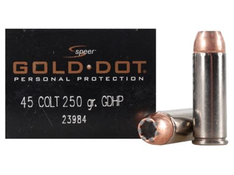 45 Long Colt Hollow Point Ammo