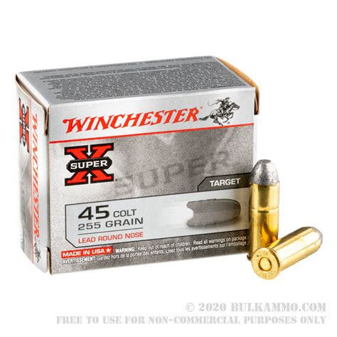 45 Long Colt Rifle Ammo For Sale